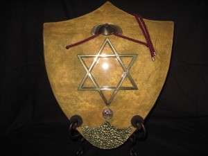 Battle Shield -Star of David