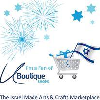 U-Boutique magazine Israel's arts & crafts center